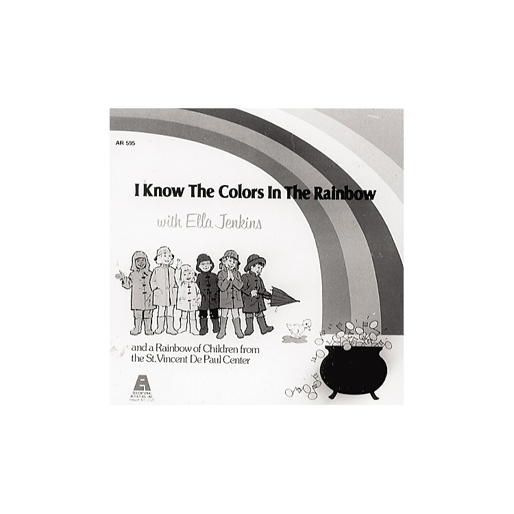 Educational Activities Colors In The Rainbow Cd