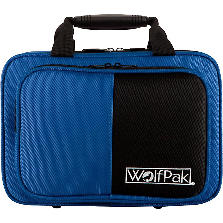 WolfPak Colors Series Lightweight Polyfoam Clarinet Case Blue