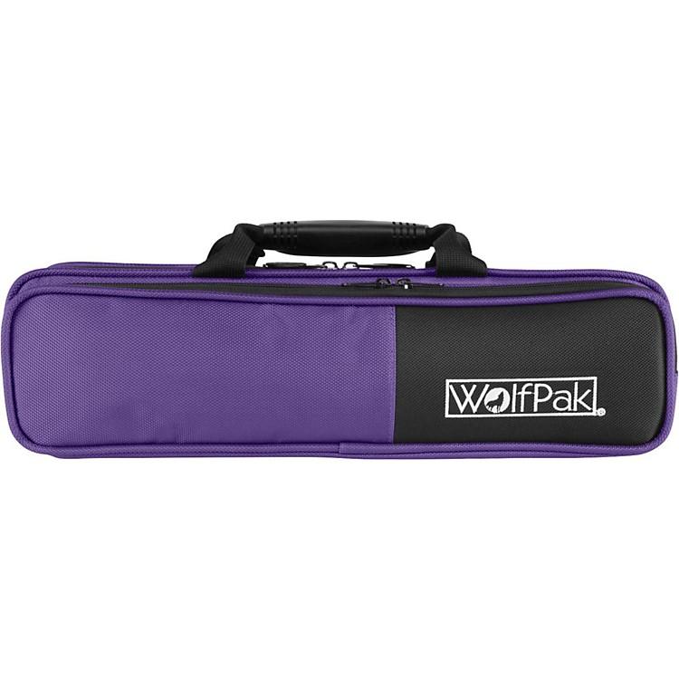 WolfPakColors Series Lightweight Polyfoam Flute CasePurple