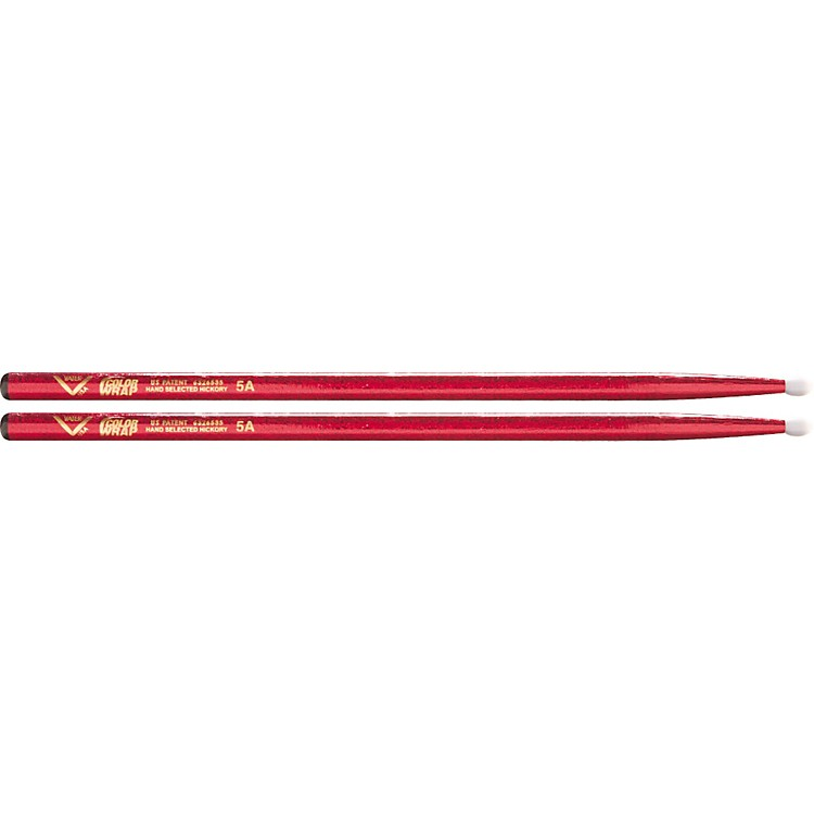 Vater Colorwrap Nylon Tip Sticks - Pair