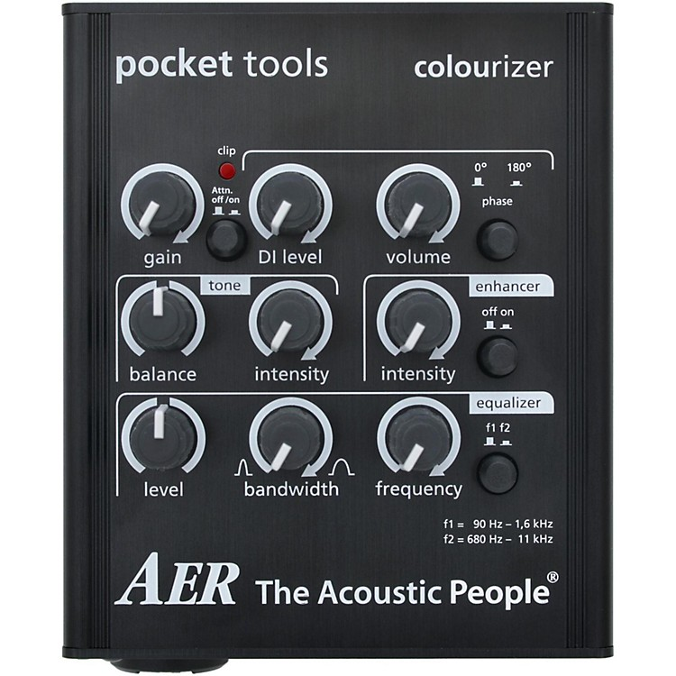 AERColourizer-2 Acoustic Guitar Direct Box and Preamp