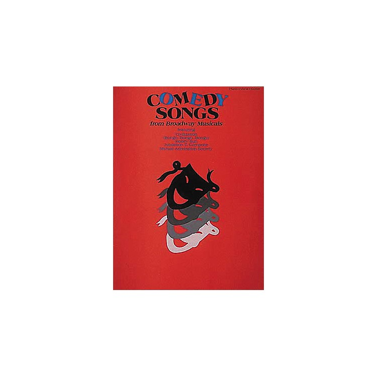 Hal LeonardComedy Songs from Broadway Musicals Piano/Vocal/Guitar Songbook
