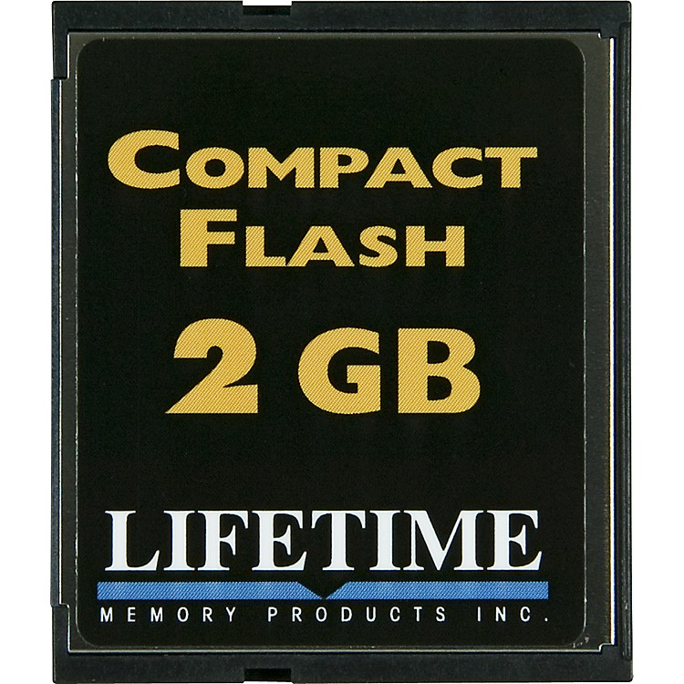 Lifetime Memory ProductsCompact Flash Card