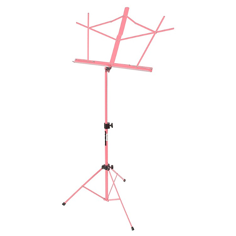 On-Stage Stands Compact Sheet Music Stand Pink