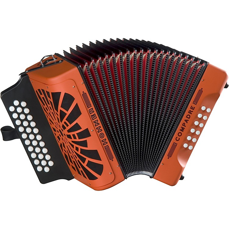 Hohner Compadre ADG Accordion Orange