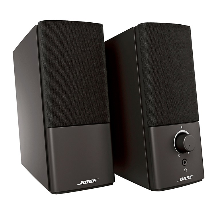Bose Companion 2 Series III Multimedia Speaker System Black