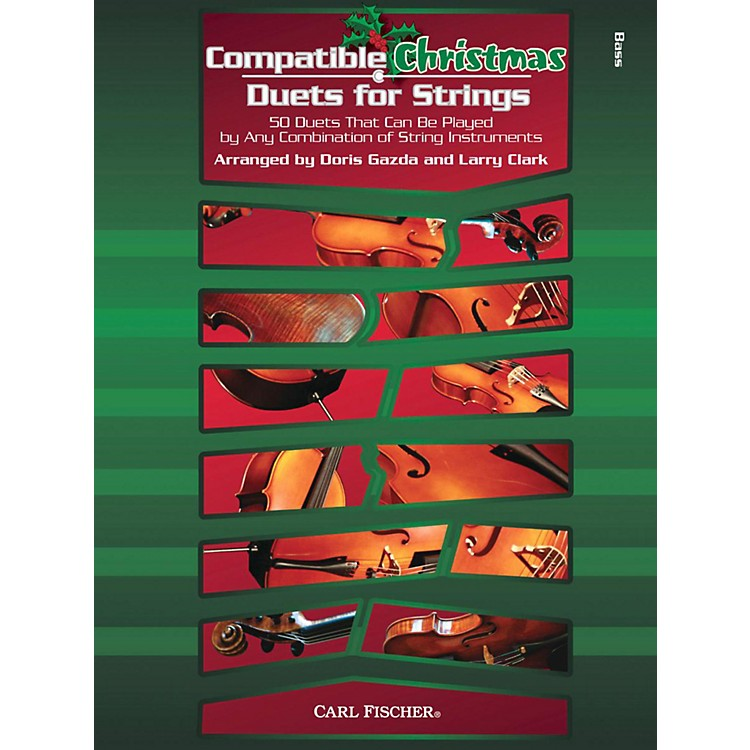 Carl FischerCompatible Christmas Duets for Strings: String Bass