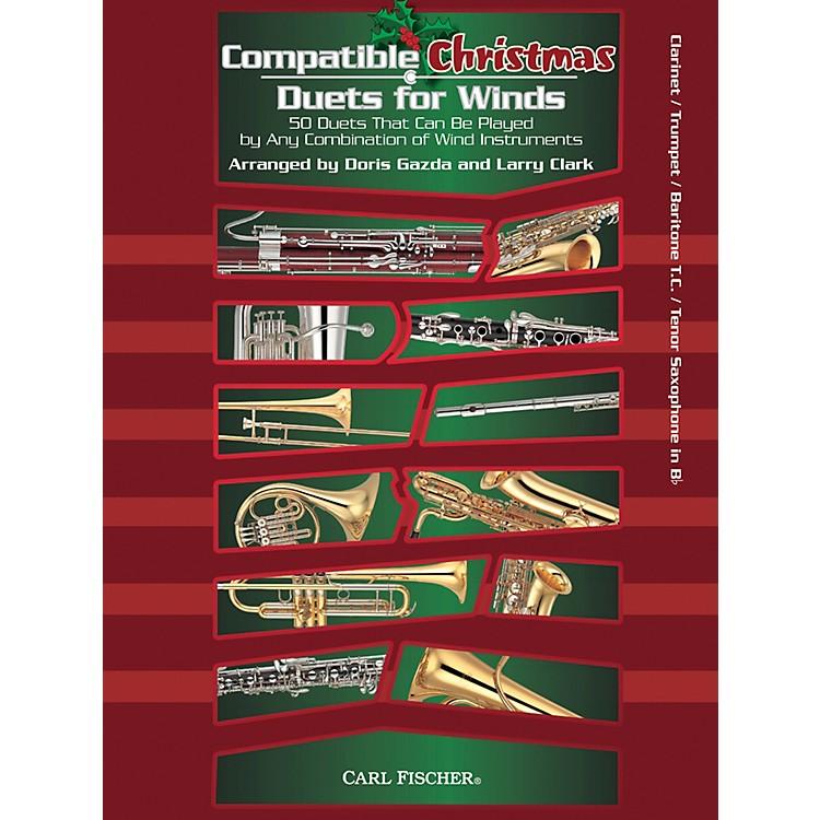 Carl FischerCompatible Christmas Duets for Winds: Clarinet / Trumpet / Baritone T.C. / Tenor Saxophone