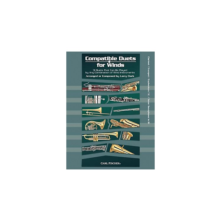 Carl FischerCompatible Duets for Winds: Winds in Bb Book