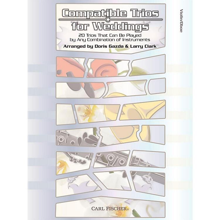 Carl FischerCompatible Trios for Weddings - Violin