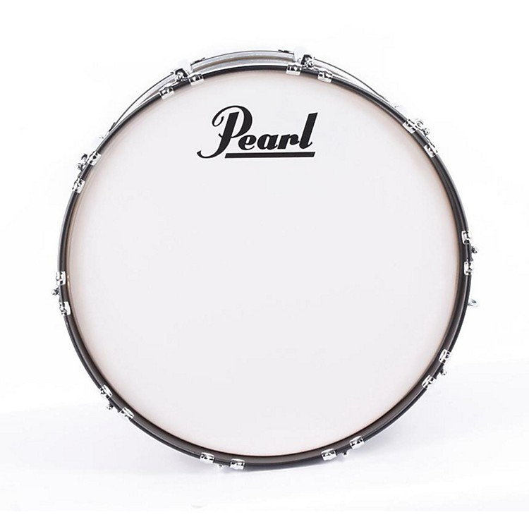 Pearl Competitor Bass Drum with Carrier Black 886830885839