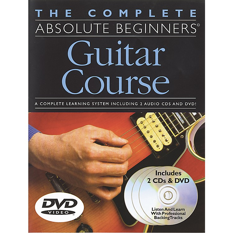 Music SalesComplete Absolute Beginners Guitar Course (Book/CD/DVD)