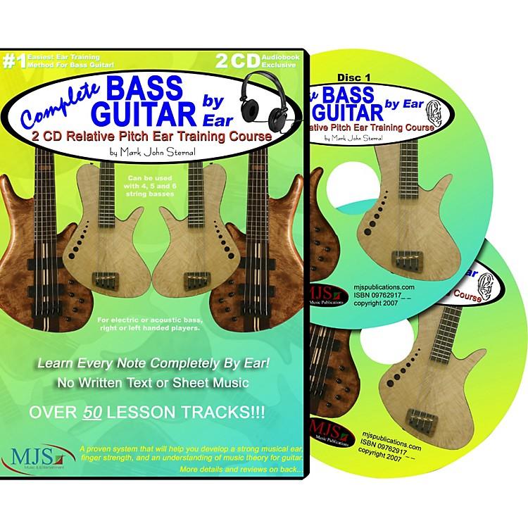 MJS Music PublicationsComplete Bass Guitar by Ear (2-CD Set)