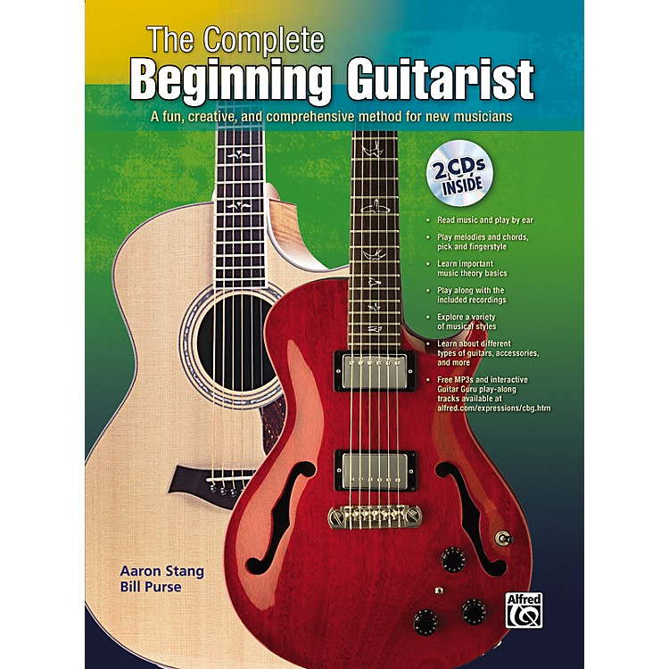 Alfred Complete Beginning Guitar Book/Double CD Set