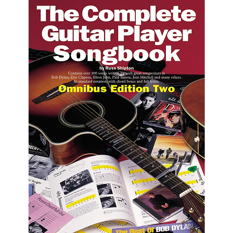 Music Sales Complete Guitar Player Tab Songbook Edition 2