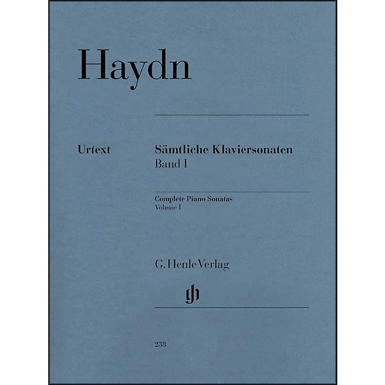 G. Henle VerlagComplete Piano Sonatas - Volume 1 By Haydn