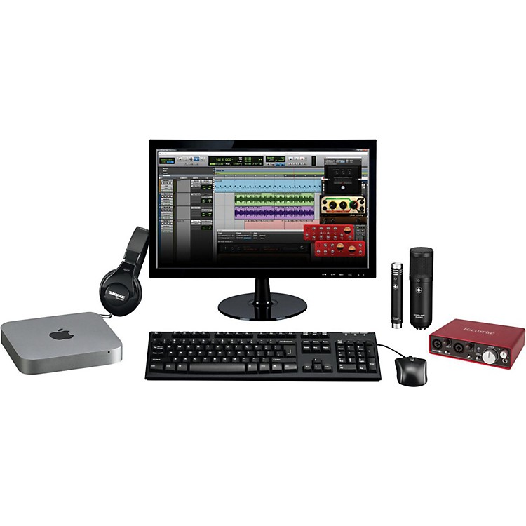 Apple Complete Recording Studio with Mac Mini v6