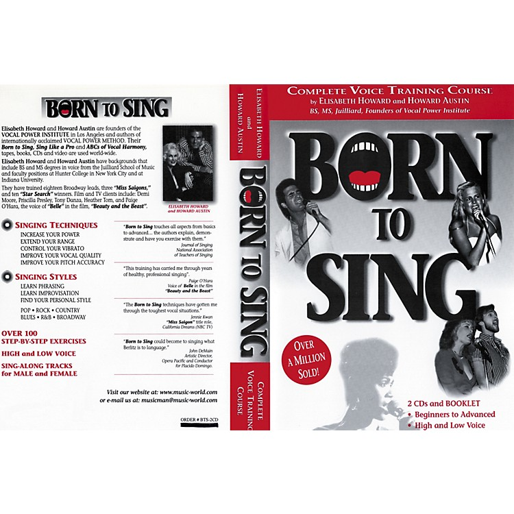 Born to SingComplete Voice Training Course (Booklet + 2 CDs)