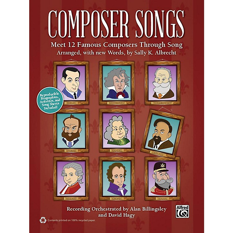 AlfredComposer Songs Book & CD
