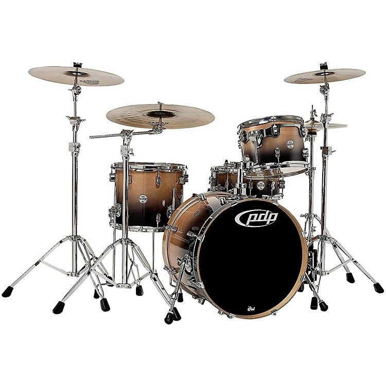PDPConcept Birch 4-Piece Shell PackNatural to Charcoal Fade