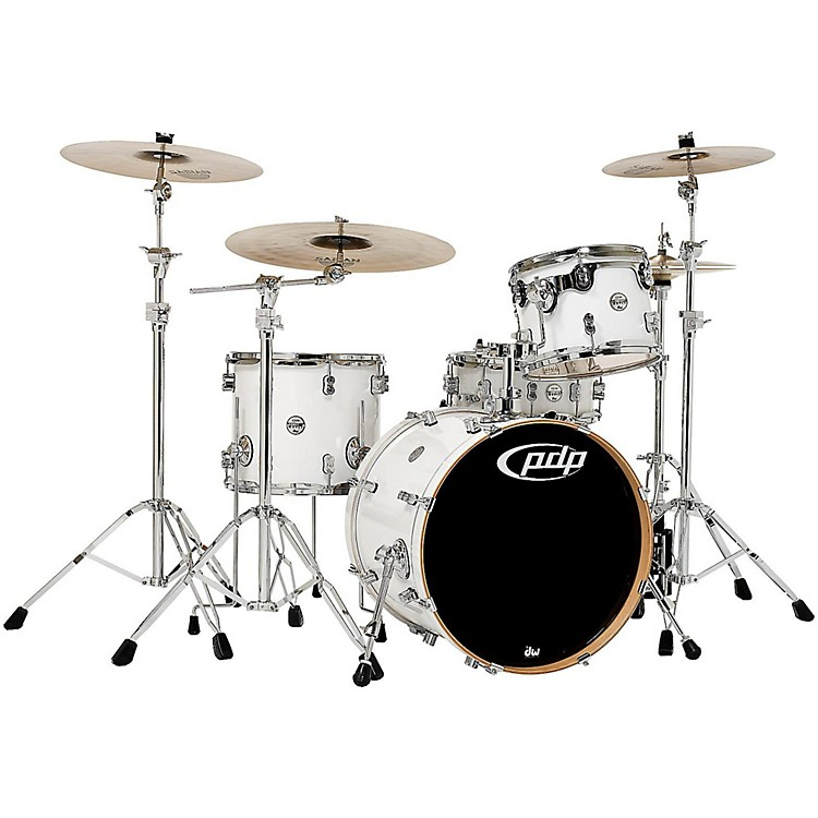 PDP Concept Maple 4-Piece Shell Pack Pearlescent White