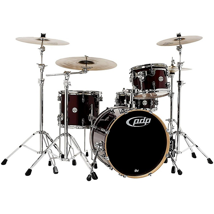 PDP Concept Maple 4-Piece Shell Pack Transparent Cherry