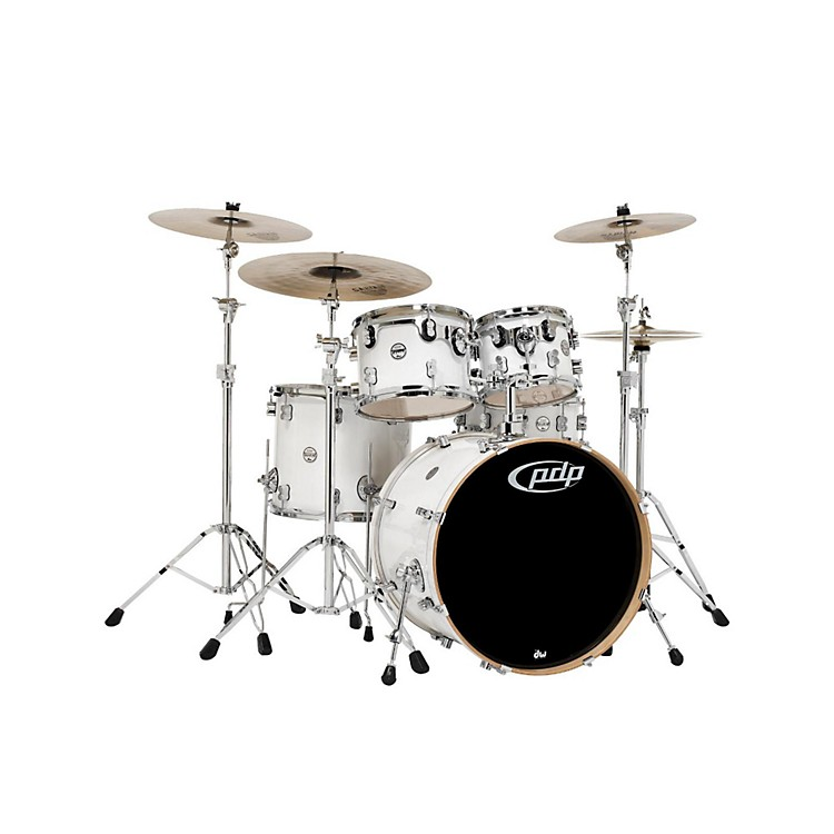 PDPConcept Maple by DW 5-Piece Shell PackPearlescent White