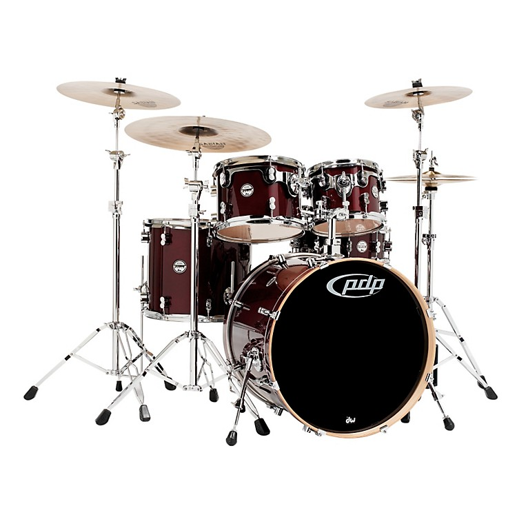 PDPConcept Maple by DW 5-Piece Shell PackTransparent Cherry