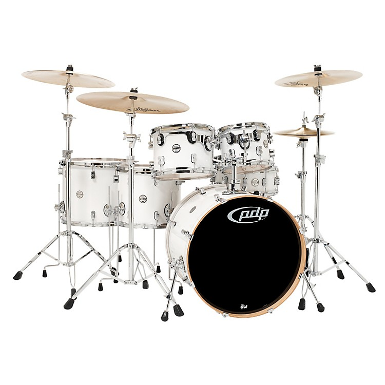 PDP Concept Maple by DW 6-Piece Shell Pack Pearlescent White