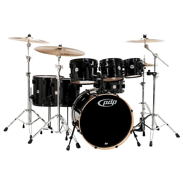 PDPConcept Maple by DW 7-Piece Shell PackPearlescent Black