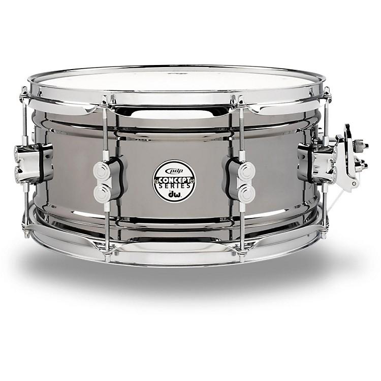 PDPConcept Series Black Nickel Over Steel Snare Drum13x6.5 Inch