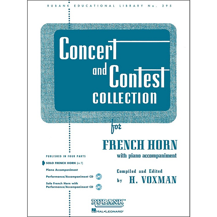 Hal LeonardConcert And Contest Collection French Horn In F Solo Part Only