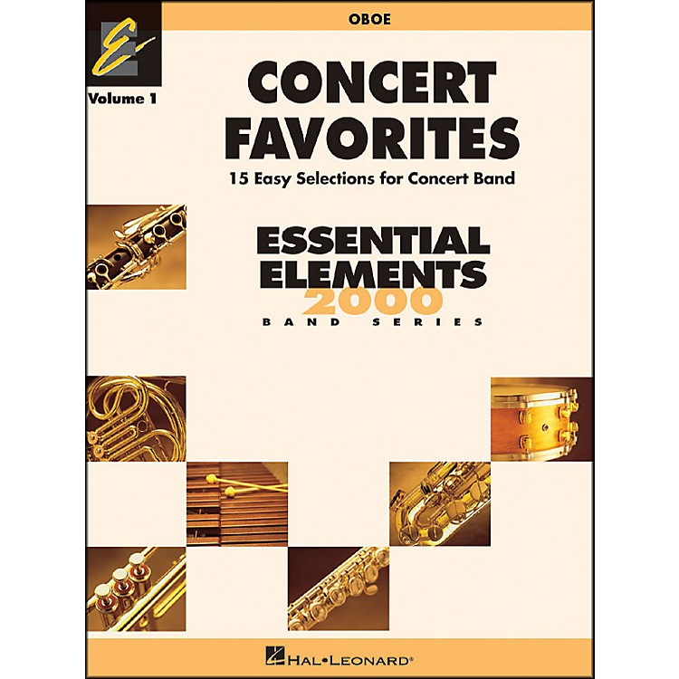 Hal Leonard Concert Favorites Vol1 Oboe