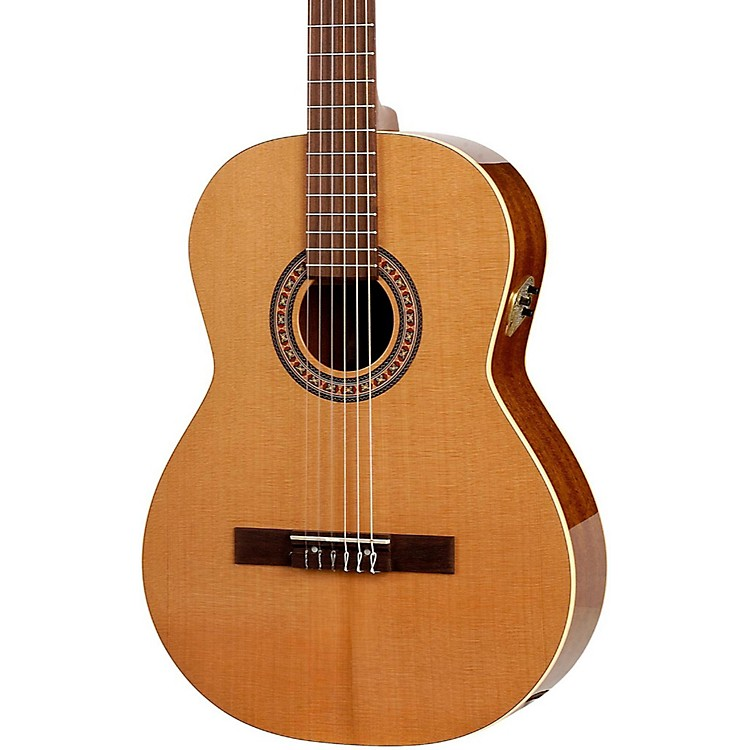 La Patrie Concert QI Left-Handed Acoustic-Electric Classical Guitar Natural
