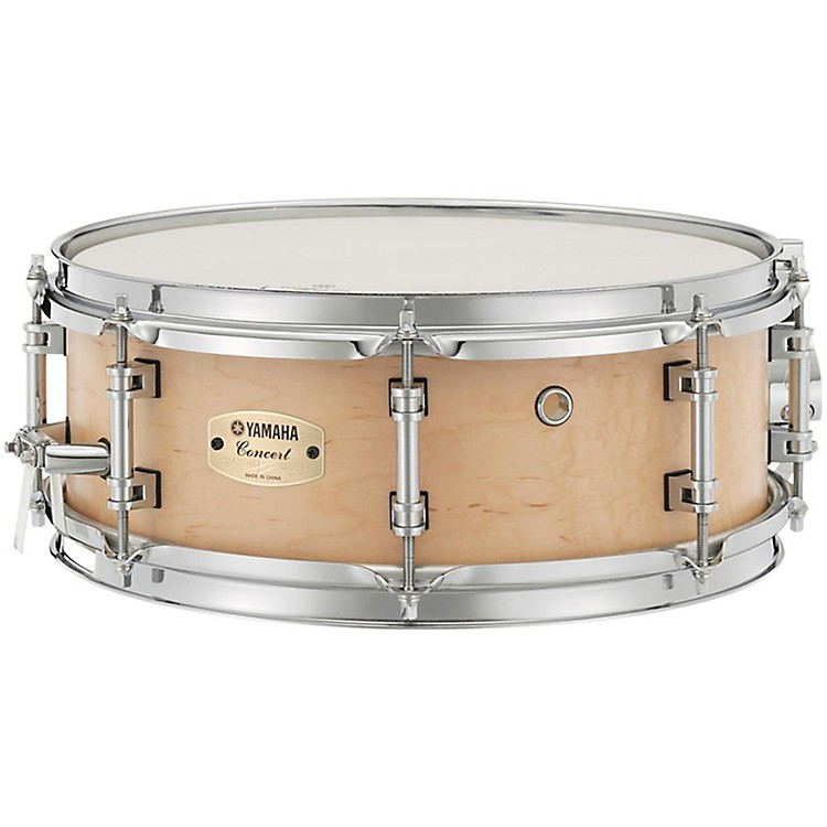 Yamaha Concert Series Maple Snare Drum 13 x 5 in. Matte Natural