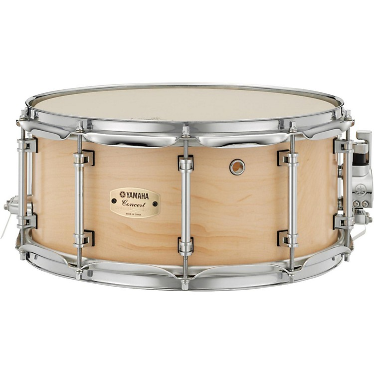 Yamaha Concert Series Maple Snare Drum 14 x 6.5 in. Matte Natural