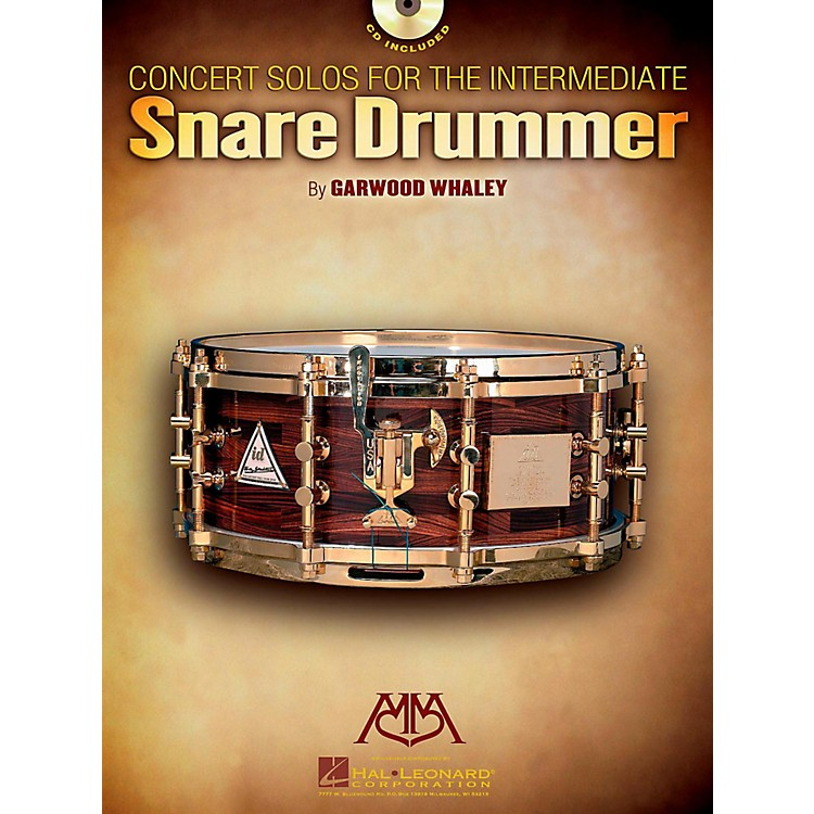 Meredith MusicConcert Solos For The Intermediate Snare Drummer Book/CD