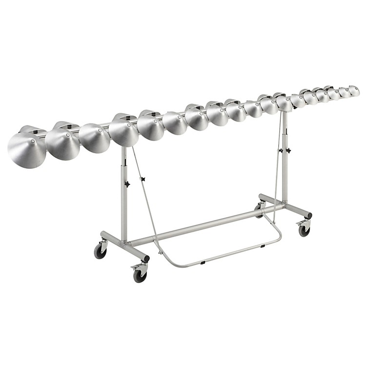 Aluphone Concert with damping bar and frame, Stensgaard Standard