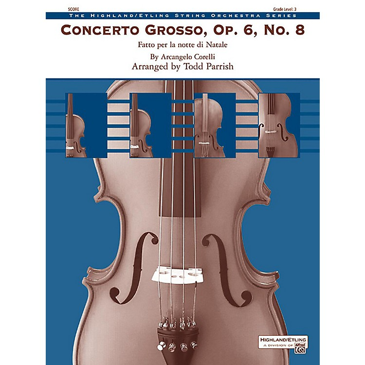 AlfredConcerto Grosso - Op. 6 - No. 83