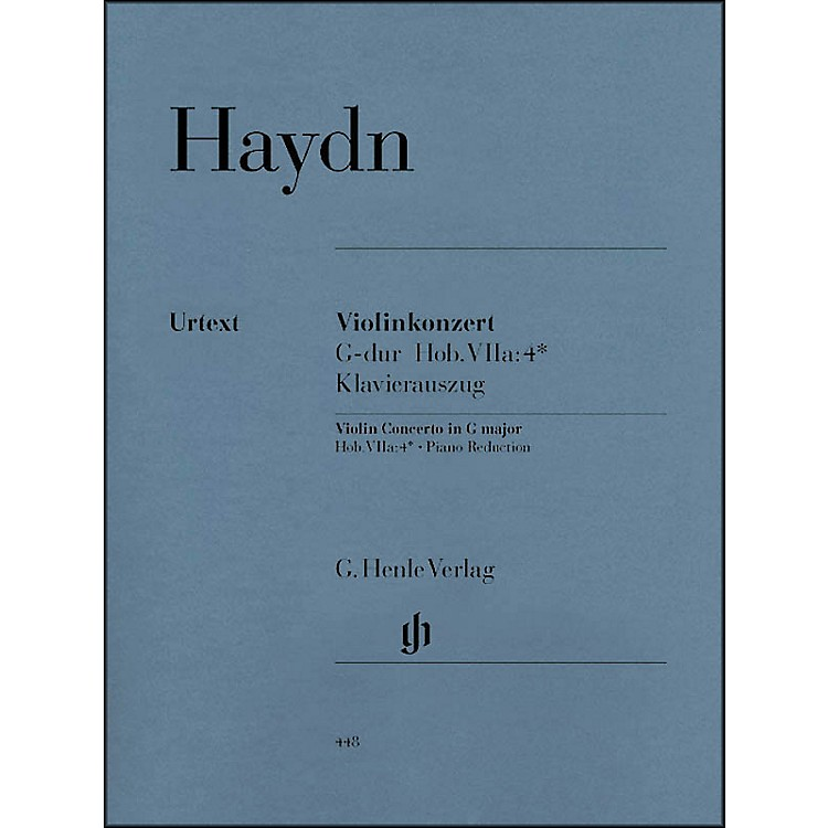 G. Henle VerlagConcerto for Violin And Orchestra in G Major Hob VIIa:4 By Haydn