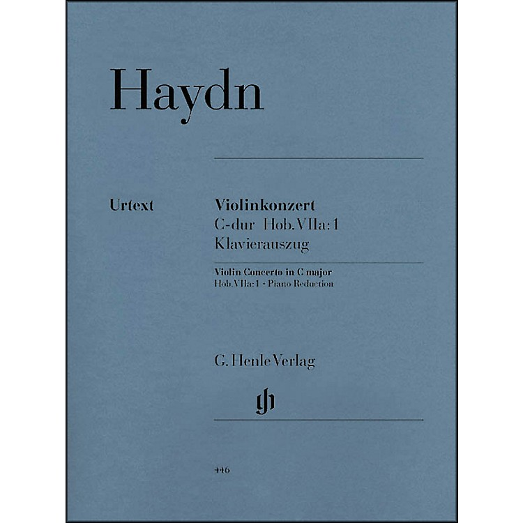 G. Henle VerlagConcerto for Violin and Orchestra in C Major Hob. VIIa:1 By Haydn