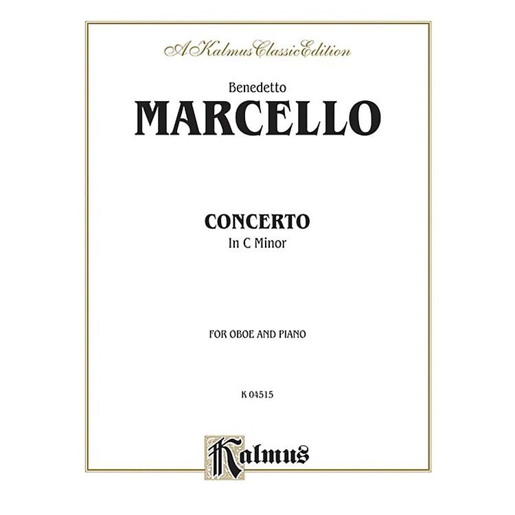 AlfredConcerto in C Minor for Oboe By Benedetto Marcello Book