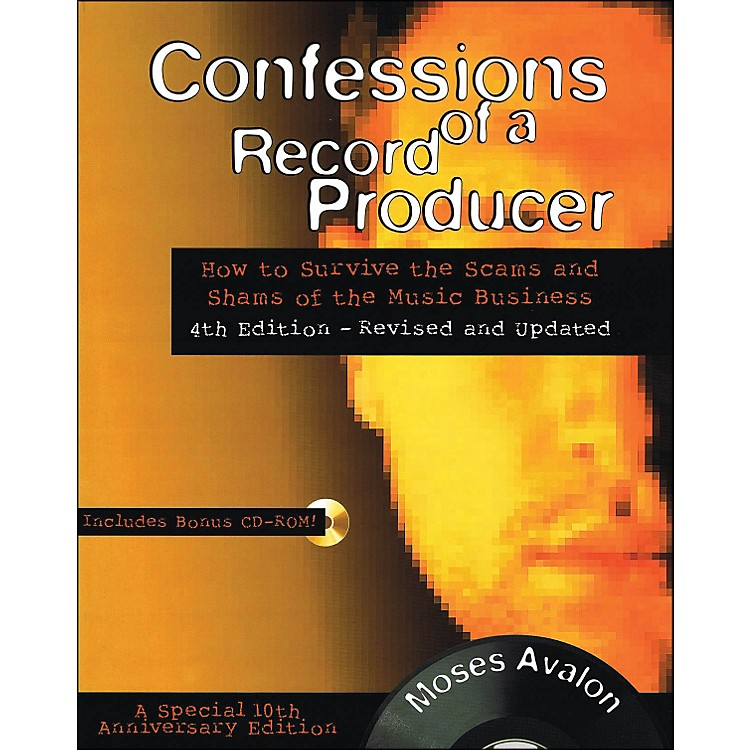 Backbeat BooksConfessions Of A Record Producer Book/CD-Rom