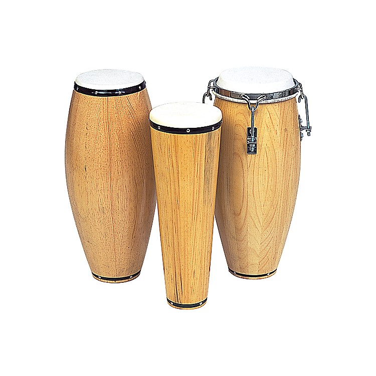Rhythm Band Conga Non-Tunable Barrel 12 in. H x 5 in. Dia.