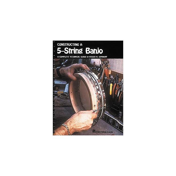 Hal LeonardConstructing a 5-String Banjo Book