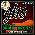 GHS Contact Core Bright Bronze Medium Acoustic Guitar Strings (11-50)