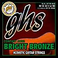 GHS Contact Core Bright Bronze Medium Acoustic Guitar Strings (13-56)