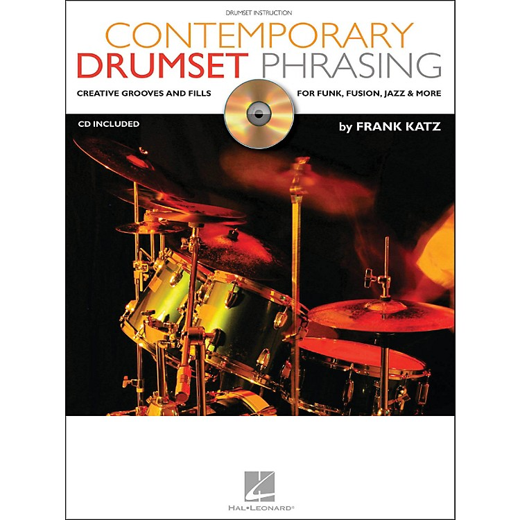 Hal Leonard Contemporary Drumset Phrasing Book/CD Drumset Instruction