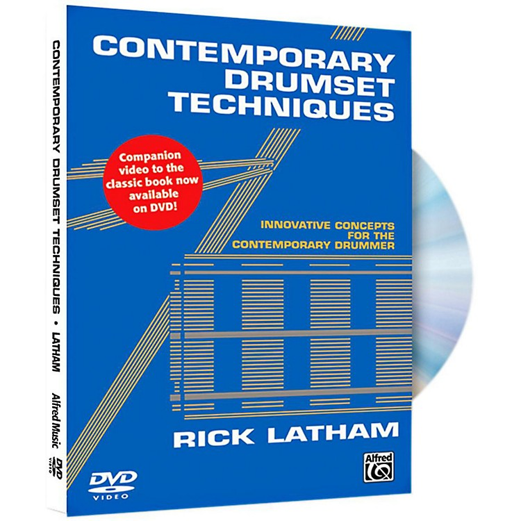Alfred Contemporary Drumset Techniques DVD