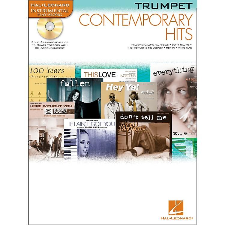 Hal LeonardContemporary Hits for Trumpet Book/CD Instrumental Play-Along